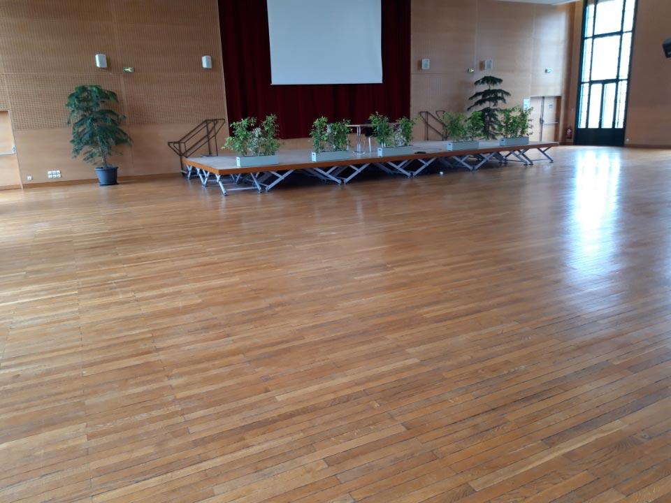 Salle du club vichyssois